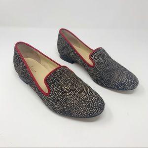 Cole Haan Nike Air Sabrina Calf Hair Loafers 7.5